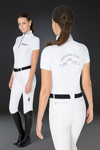 Equiline Clara Competition Polo Shirt