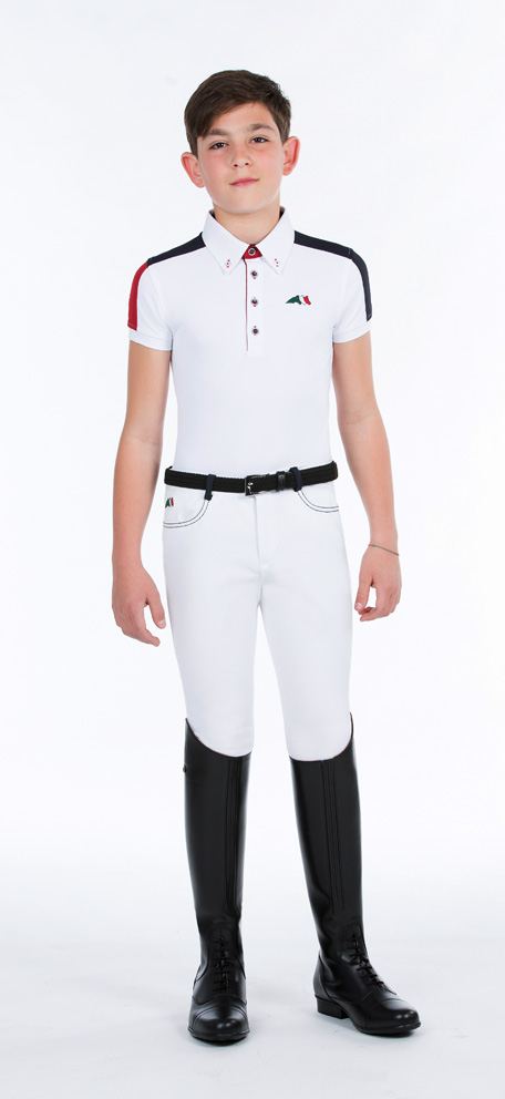 Equiline Filippo Boys Competition Shirt Mens And Boys