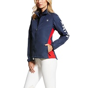 Ariat Womens Ideal Windbreaker Team Jacket