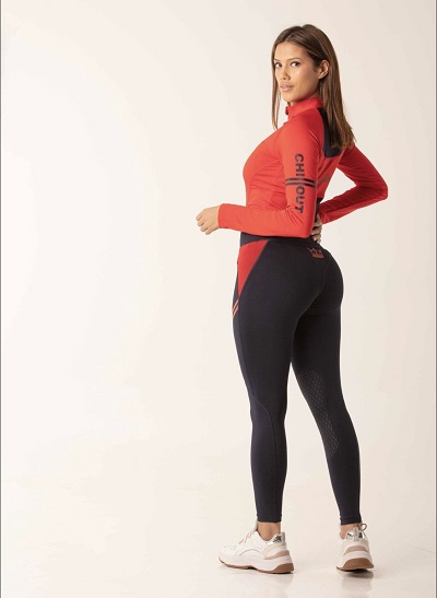 Chillout Extreme Silicone Tights Navy/Red