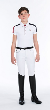 Equiline Filippo Boys Competition Shirt