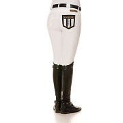 Kingsland Kelly Slim Fit White Breeches SALE
