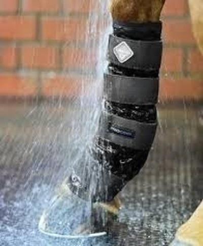 Pair LeMieux ProCool Cold Water Boots