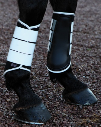 Shires Reflective Brushing Boots